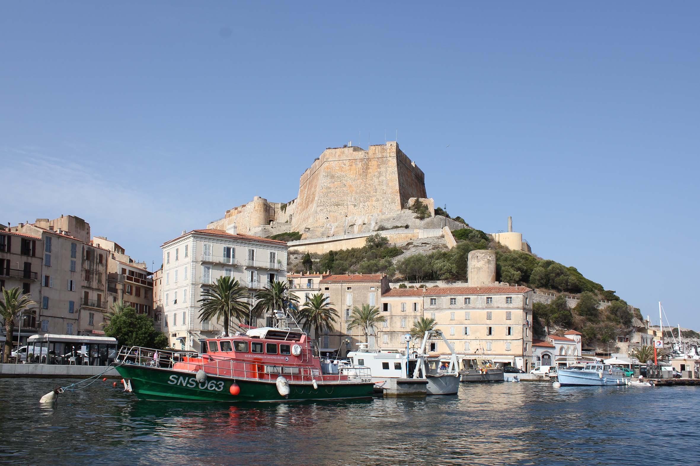 Corsica bonifacio for Restaurant bonifacio port